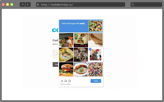 AJAX форма и Invisible reCAPTCHA | Шпаргалка веб-разработчика